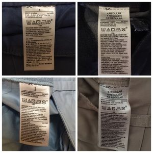 GAP Pants - FOUR PAIRS SIZE 4 cropped pants!